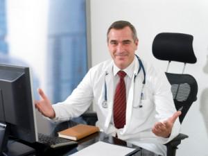 Physician Handling Medical Practice